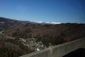 My view from the bus on the way to Niigata