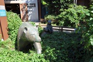 Mont Bell's bear family