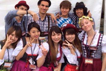 Working Holiday jobs at Yokohama Oktoberfest