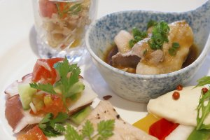 Delicate cuisine at Kyoto Royal Hotel and Spa in Central Kyoto