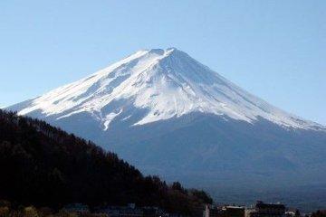 美丽的富士山