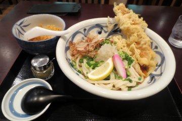 Saitagawa udon in Tokyo