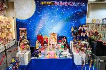 Sailor Moon display