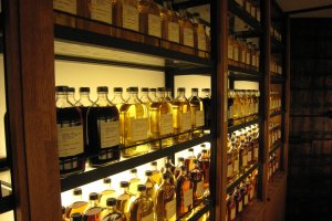 Wall-to-wall whisky