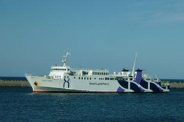Wakkanai Station has close port access for ferries that visit Rishiri and Rebun islands