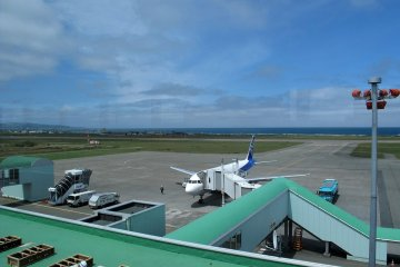 Flights via ANA to Tokyo and Sapporo are available daily