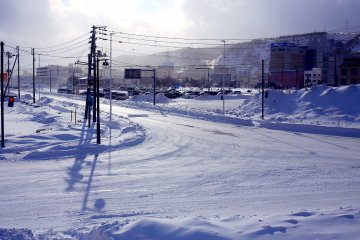 Due to winter weather conditions in Wakkanai, flights can occasionally be re-routed