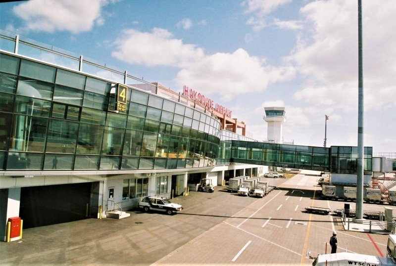 Airside at Hakodate Airport