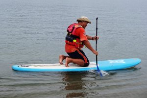How to keep your balance on a SUP is important.