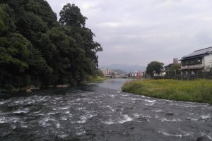 Mikuma River going through Hita