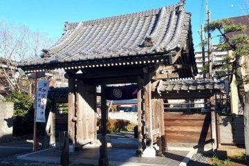 Tofukuji Temple's sanmon gate, Soka