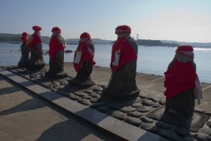 Harahogejizo, the Six Boddhisattva Statues