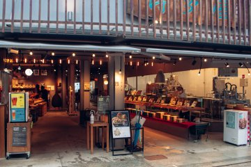 Miyajima shopping streets. Everything you need for any taste and budget