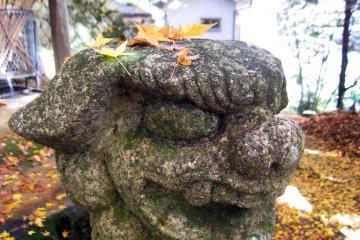 Komainu (Lion Dog) guardian statue