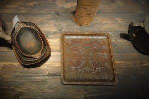 Nibutani tray (cropped image)