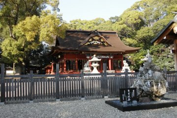 Inner shrine of Hachiman Gu, Okazaki