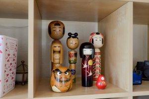Dento kokeshi dolls, Miyagi prefecture