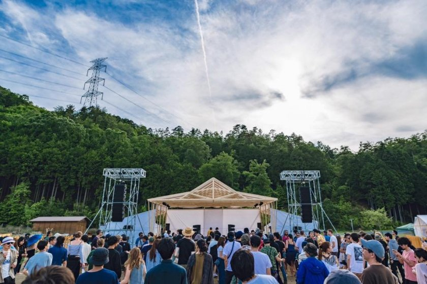 The event lineup has a range of DJs and musicians