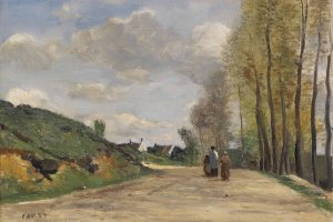 Corot is often regarded as one of the legends of landscape painting