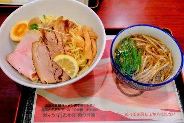 Musashi is one of the ramen restaurants at CoCoLo Nagaoka