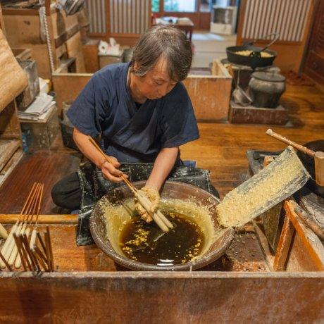 愛媛に残る伝統工芸「大森和蝋燭」