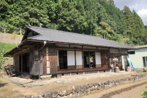The traditional tea house