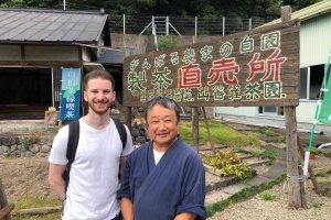 The master and owner of the Yamakasho tea plantation
