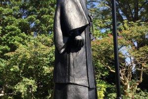 Jigoro Kano statue