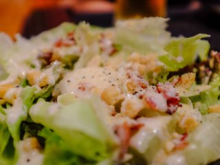 The caesar salad was a great little side dish