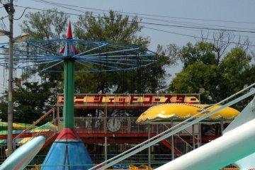 <p>Roller coaster</p>