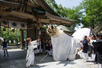 Uwajima Ushioni Festival