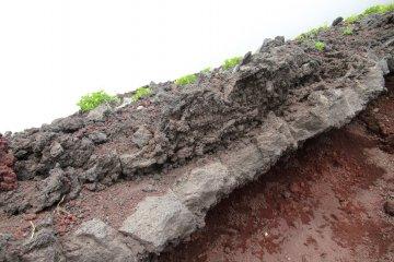 The steep and stony Fujinomiya Trail