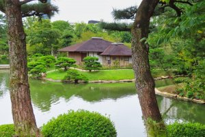 Shukkeien Garden Seifu-kan (Cool Breeze Tea House)
