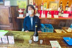 Fukubijin Brewery's Shimomura Teruko