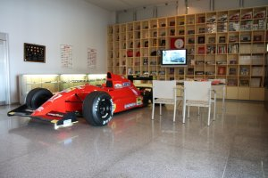One of the pieces on display at the Shikoku Automobile Museum
