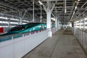 Shin-Aomori currently serves as the terminus for the Tohoku Shinkansen