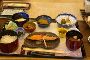 The breakfast also alternates during your stay at Higashiyama-so Ryokan Kiyomizu