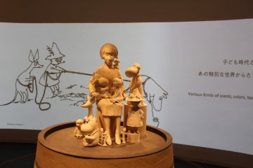 Kokemus - an exhibition hall - also has no additional charge. The hall brings Tove Jansson's stories to life with life size exhibits using special effects.