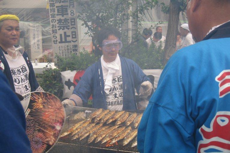 目黒秋刀魚祭典