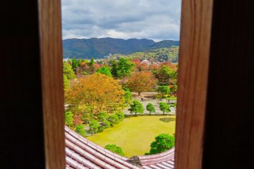 View from third floor of castle