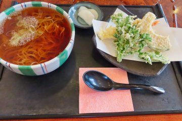 Kamishiroya Aizu restaurant's local Soba