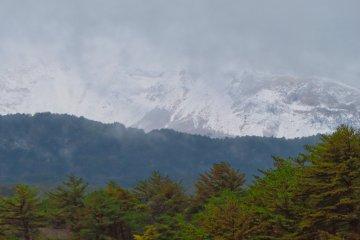 Mt. Bandai snow