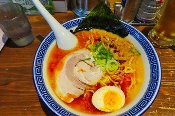 Local Spicy Miso ramen