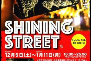 Odate Shining Street Illumination official event flyer