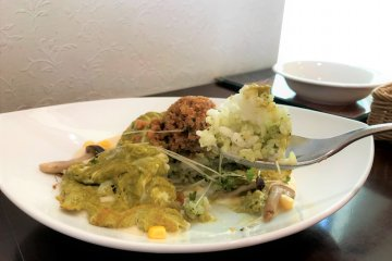 Green tea infused rice!