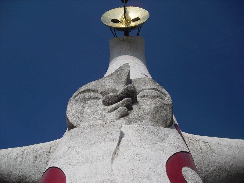 Taro Okamoto's Tower of the Sun was built for Expo '70 in Osaka