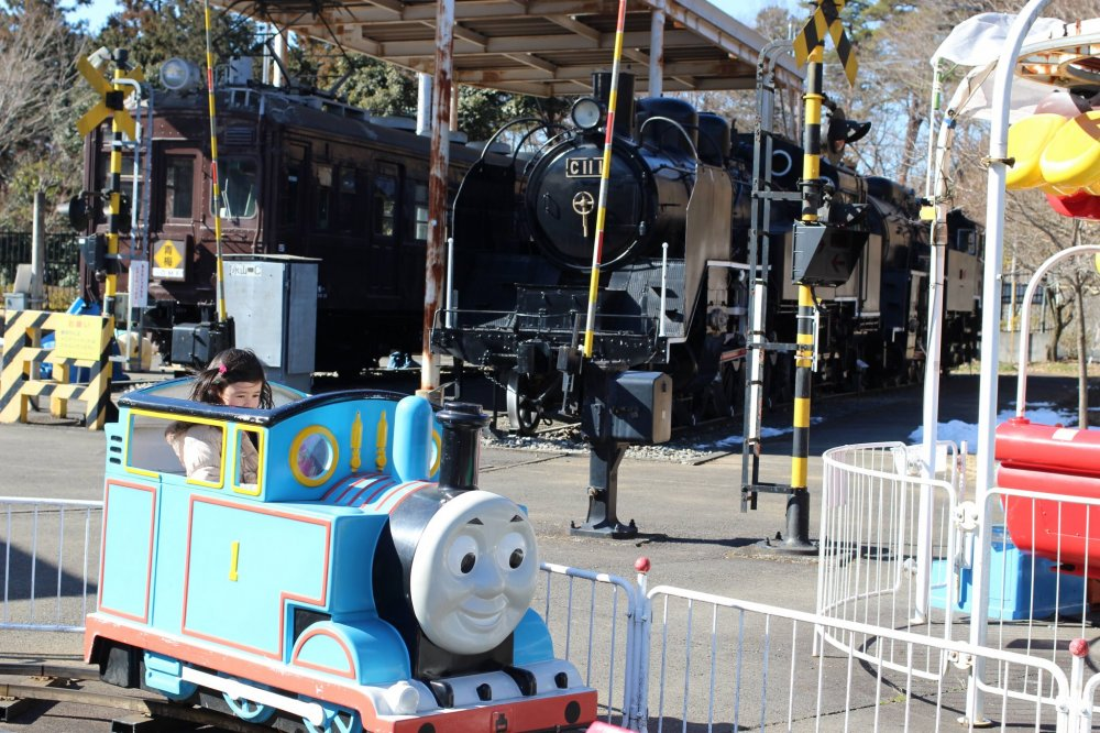There are some characters that overseas travelers are more familiar with, such as Thomas the Tank Engine.