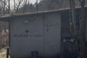 Entrance to Eloise Cafe