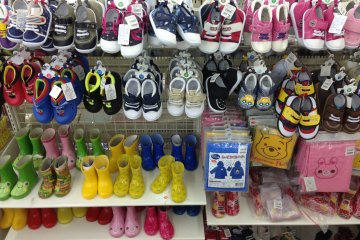 <p>There are shoes for all members of the family and all occasions throughout the store</p>