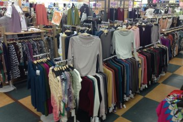 <p>Even more apparel</p>